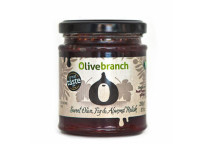 Sweet Olive, Fig & Almond Relish