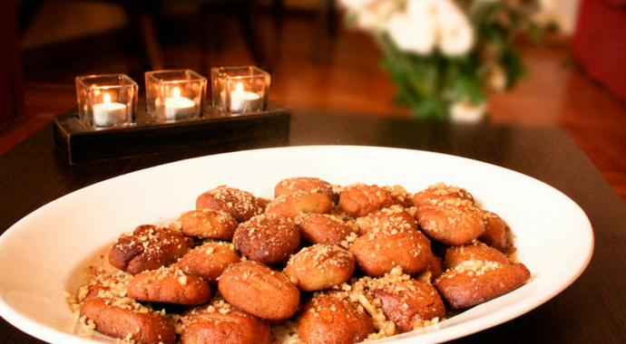 Melomakarona Greek Honey Cookies