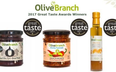 We've won in the 2017 Great Taste Awards!