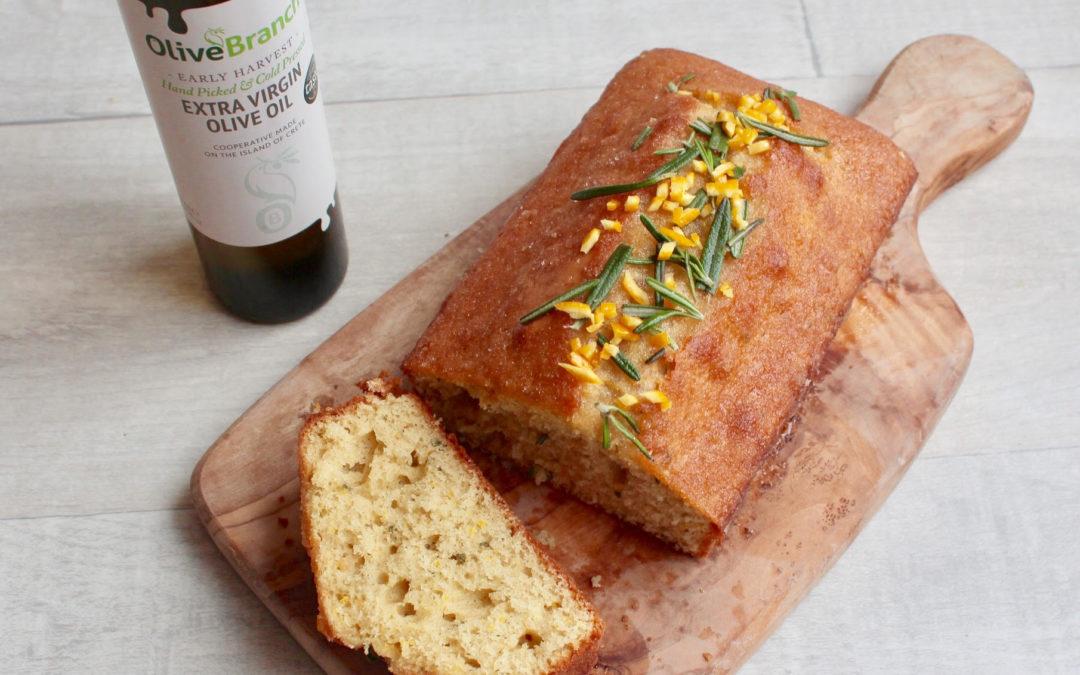 Rosemary Olive Oil And Orange Cake