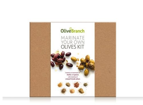 Marinate Your Own Olives Kit